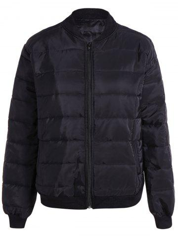 Discount Warm Zipper Up Down Jacket