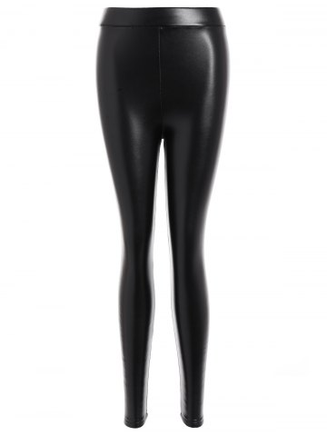 Latest Faux Leather Thicken Leggings