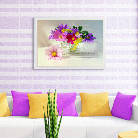 Best DIY Beads Painting Colorful Florals Cross Stitch COLORMIX