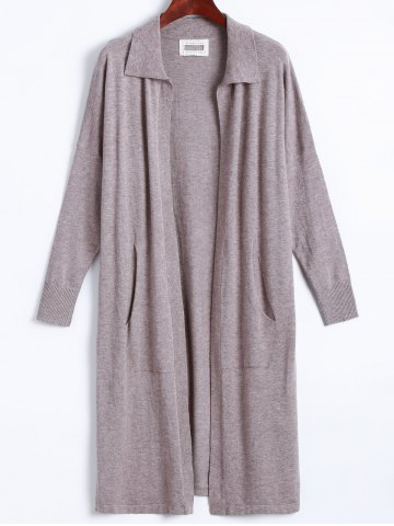 Chic Open Front Fine Knit Cardigan
