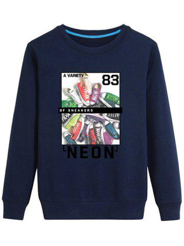 Cheap Long Sleeve Graphic Printed Sweatshirt