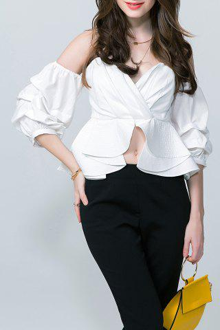 Cropped Off The Shoulder Blouse