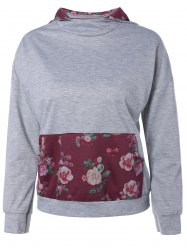 Active Flower Pocket Hoodie