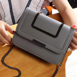 Flap Chains Crossbody Bag