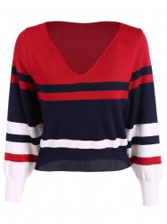 Striped Pattern Sweater -