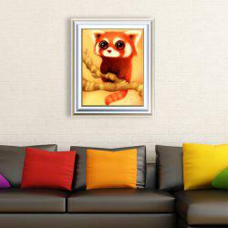 DIY Beads Painting Cartoon Rat Animal Cross Stitch - RED