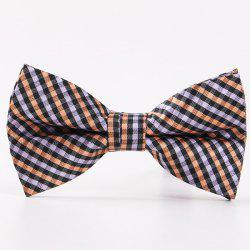 Wedding Party Pridegroom Plaid Bow Tie