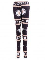 Geometric Christmas Skinny Leggings