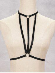 Harness Bra Bondage Geometric Body Jewelry -
