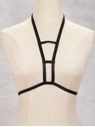 Cut Out Harness Bra Bondage Body Jewelry -