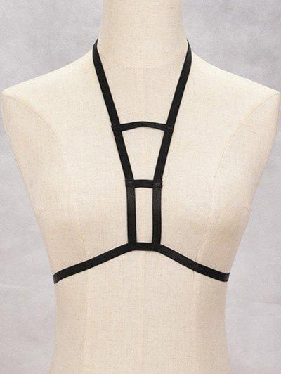 Chic Cut Out Harness Bra Bondage Body Jewelry