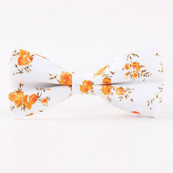 Best Little Flower Printed Casual Bow Tie