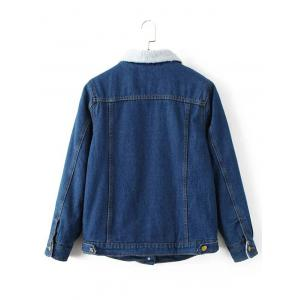 Fleece Lined Denim Jacket -