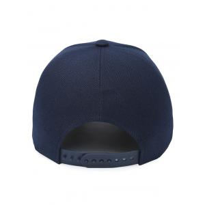 Crown Embroidery Baseball Cap - PURPLISH BLUE