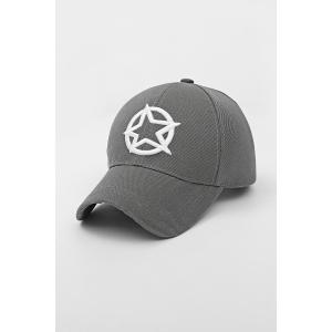 Star Circle Embroidery Baseball Cap