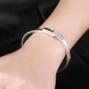 Polished Belt Bracelet -