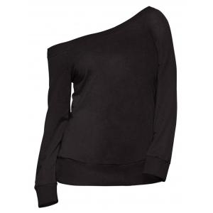 One Shoulder Sweatshirt