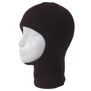 Outdoor Knit Face Mask Neck Warmer Ski Cap - Coffee