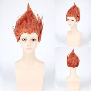Short Straight Son Goku Saiya-jin Cosplay Synthetic Wig