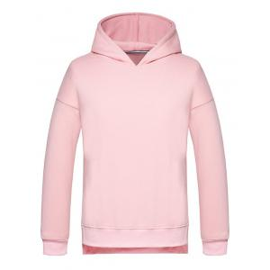 High Low Side Split Pullover Hoodie