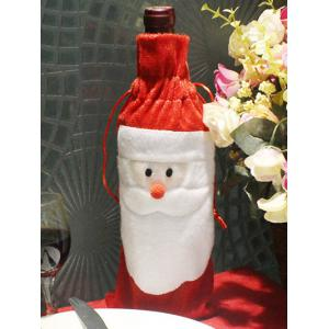 Christmas Supplies Table Decoration Santa Claus Wine Bottle Cover Bag
