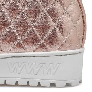 Quilted Lace Up Platform Short Boots -