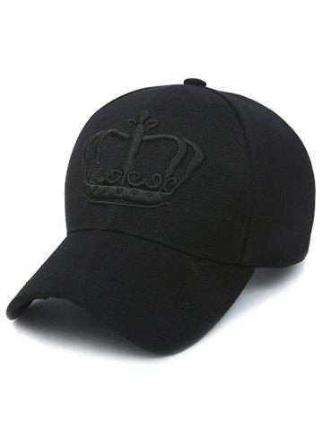 Buy Crown Embroidery Baseball Cap