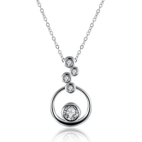 Chic Rhinestone Bubble Necklace