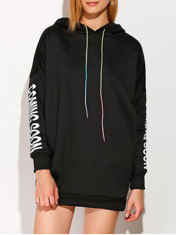 Hot Drawstring Coming Soon Graphic Hoodie