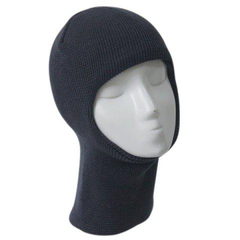 Outfit Outdoor Knit Face Mask Neck Warmer Ski Cap - GRAY  Mobile