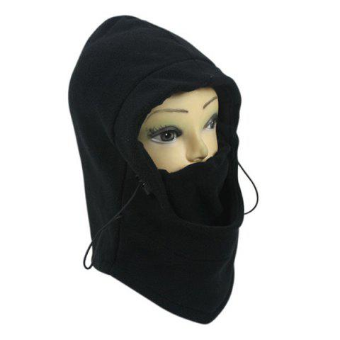 Trendy Wind Winter Stopper Face Mask Neck Warmer Cycling Cap - BLACK  Mobile