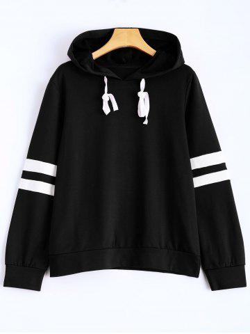 Latest Hooded Striped Sweatshirt