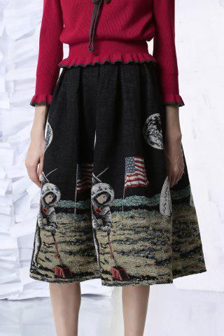 Aerospace Jacquard Skirt