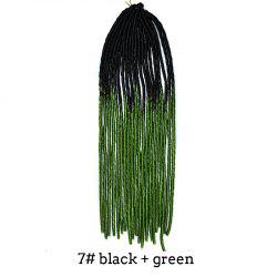 Two-Tone Ombre Stylish Heat Resistant Synthetic Dreadlock Hair Extension For Women