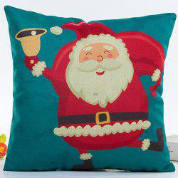 Cartoon Santa Claus Pillow Case