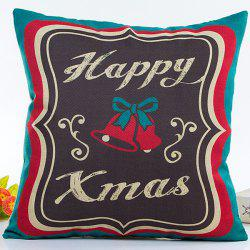 Happy Christmas Pillow Case -