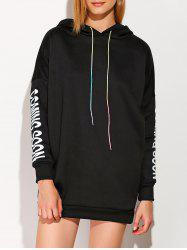 Drawstring Coming Soon Graphic Hoodie -