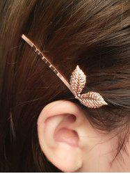 Leaves Hairpin - ROSE GOLD