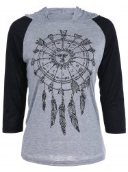 Dreamcatcher Raglan Sleeve T-Shirt