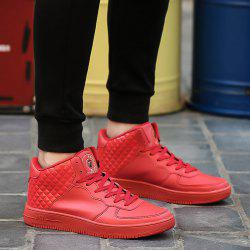 High Top Rhombic Skate Shoes
