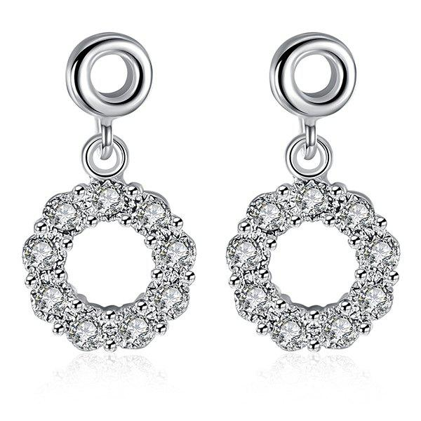 Cheap Embellished Circle Earrings