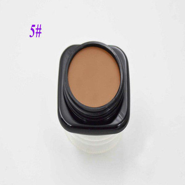 Natural Based Cream FoundationBEAUTY<br><br>Color: #05; Category: Foundation; Type: Cream; Features: Limits Bacteria; Season: Fall,Spring,Summer,Winter; Weight: 0.100kg; Package Contents: 1 x Foundation;