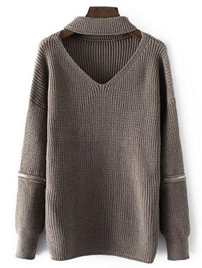 Shops Chunky Knit Choker Jumper