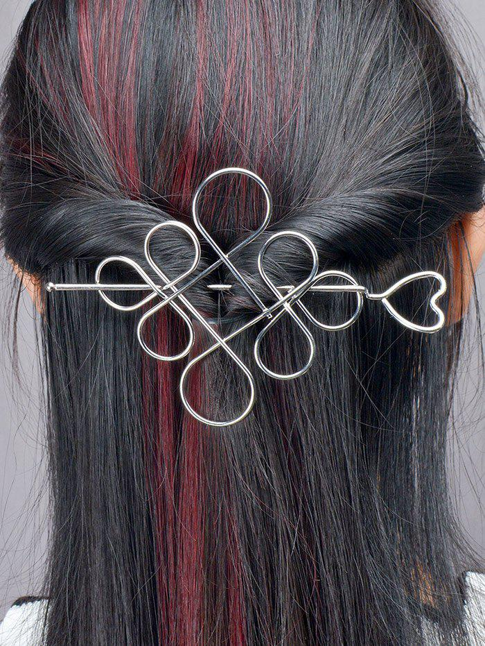 Sale Hollow Out Chinese Knot Hairpin