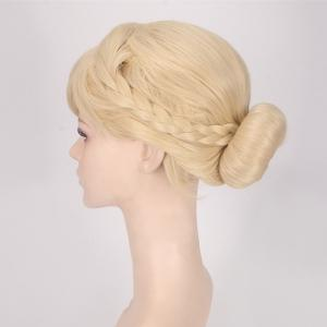 Bud Braids Princess Cosplay Synthetic Wig - BEIGE