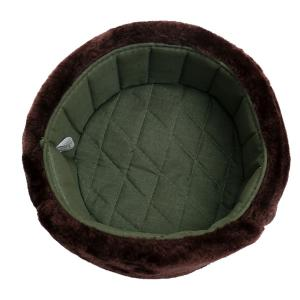 Outdoor Winter Warm Faux Fur Ear Warmer Hat -