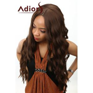 Adiors Long Body Wave Middle Parting Synthetic Wig -