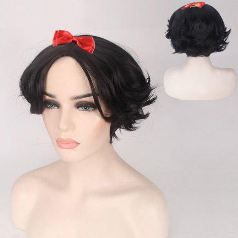 Online Short Straight Princess Cosplay Synthetic Wig