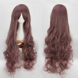 Long Side Bang Bouffant Wavy Cosplay Synthetic Wig