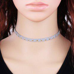 Star Velvet Choker Necklace -